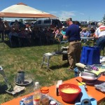Good crowd for Cast Iron Cooking